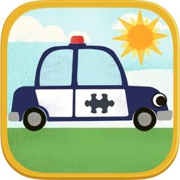 Car Games for Kids- Fun Cartoon Jigsaw Puzzles HD