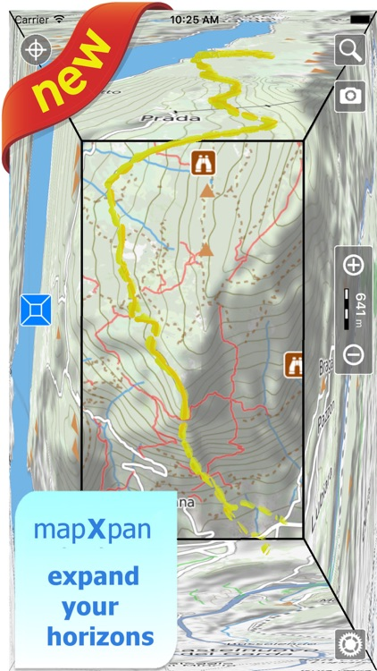 Terra Map Pro - GPS Hiking trails map screenshot-0