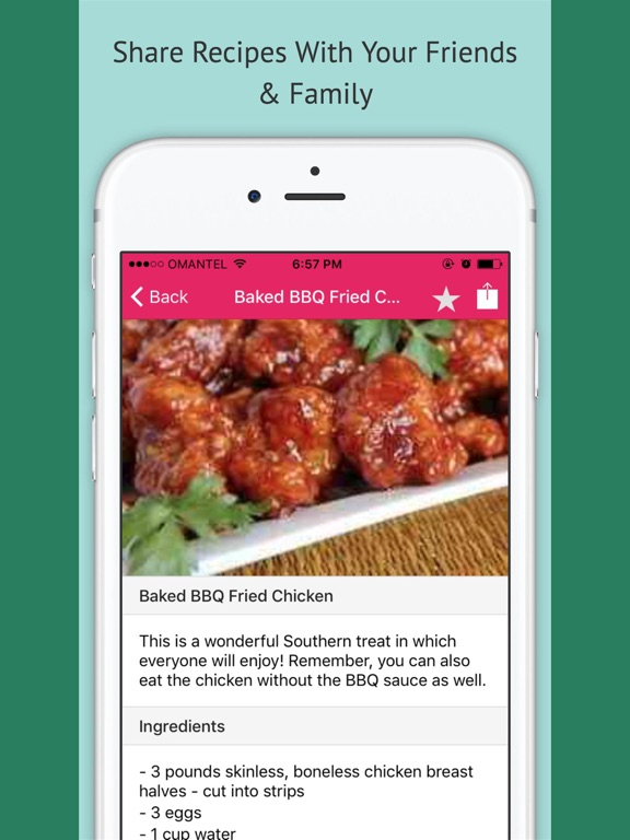 Chicken Recipes - Offline Recipes screenshot 6