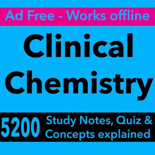Clinical Chemistry Exam Review & Test Bank App