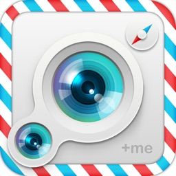 +me - duo camera & photo editor