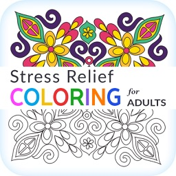 Stress Relief - Coloring for Adults