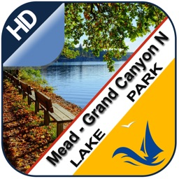 Mead - Grand canyon chart for lake & park trails