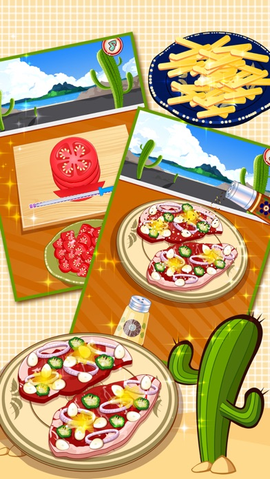 Real Mexican Taco - cooking game for kidsScreenshot of 3