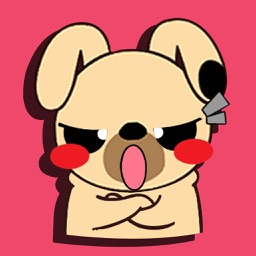 PuPpy Kika - Emoticons Sticker for iMessage