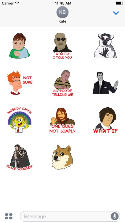Funny Memes Stickers
