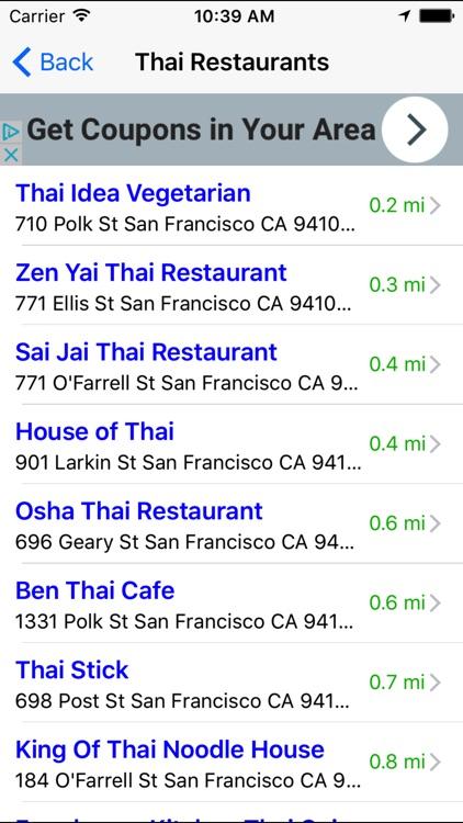 Asian Food Restaurant Finder Nearby screenshot-3