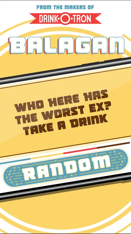 Balagan: Drinking Party Game by Drink-O-Tron Games