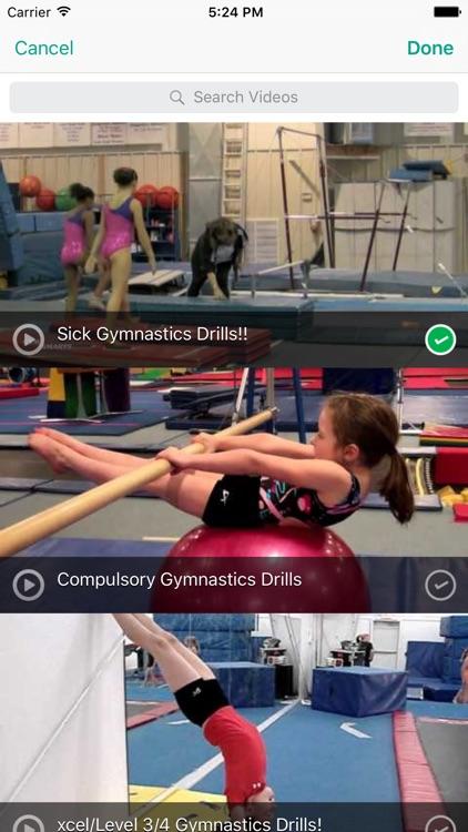 InfiniteGymnastics Practice Planner screenshot-3