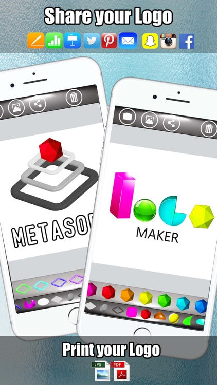 Insta 3D Logo Maker - Logo Creator with 3D Icons screenshot-4