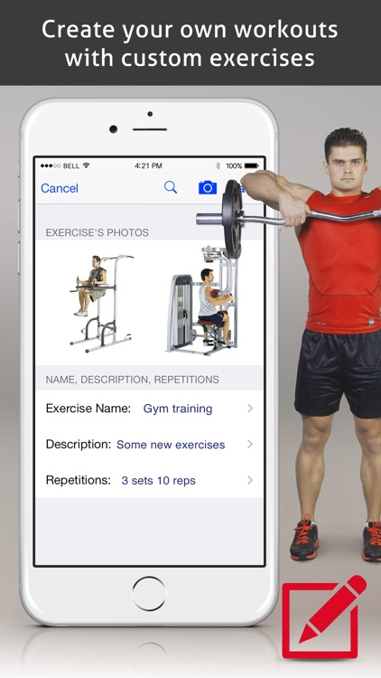 PRO Fitness - Exercises and Workouts! screenshot-3