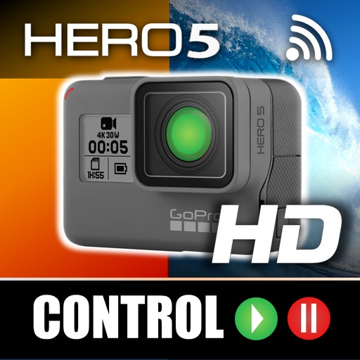 Remote Control for GoPro 5 iOS App