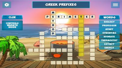 Island Crossword Puzzle Fun screenshot three