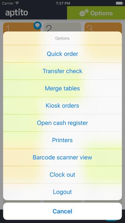Aptito Restaurant&Retail mPOS screenshot-4