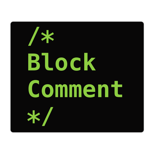 BlockComment for Xcode