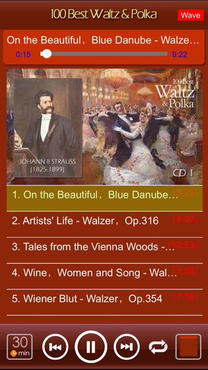 [5 CD]100 Best Waltz & Polka screenshot-1