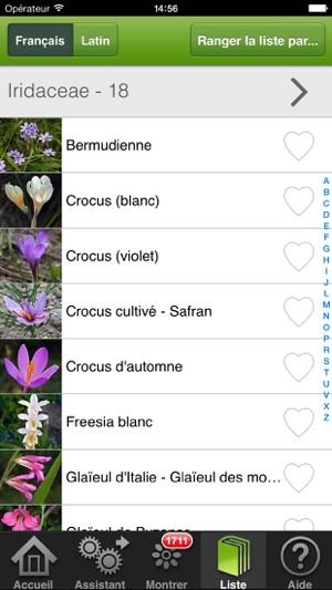 fleurs en poche dans l app store. Black Bedroom Furniture Sets. Home Design Ideas