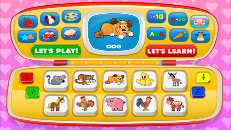 Baby games for one year olds.