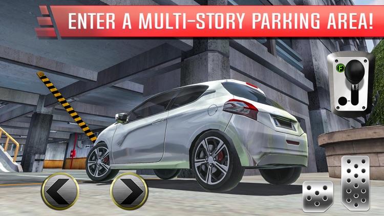 Multi Level Parking Simulator