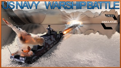 Navy Warship Gunner Fleet - WW2 War Ship Simulator screenshot three