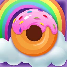 彩虹甜甜圈-益智消除休闲类游戏