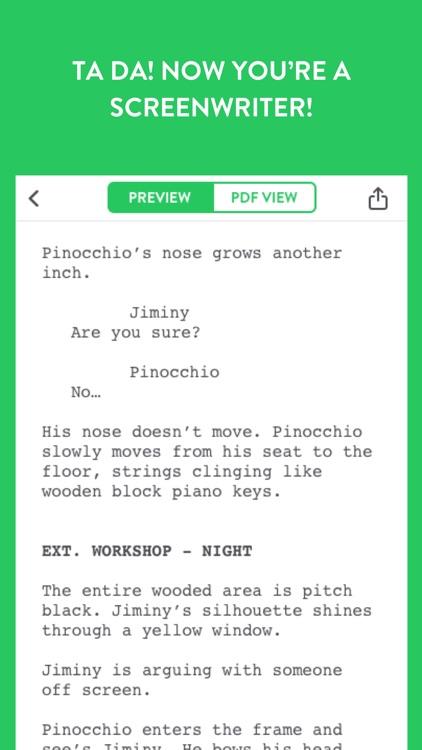 Untitled - Screenwriting Notebook screenshot-3