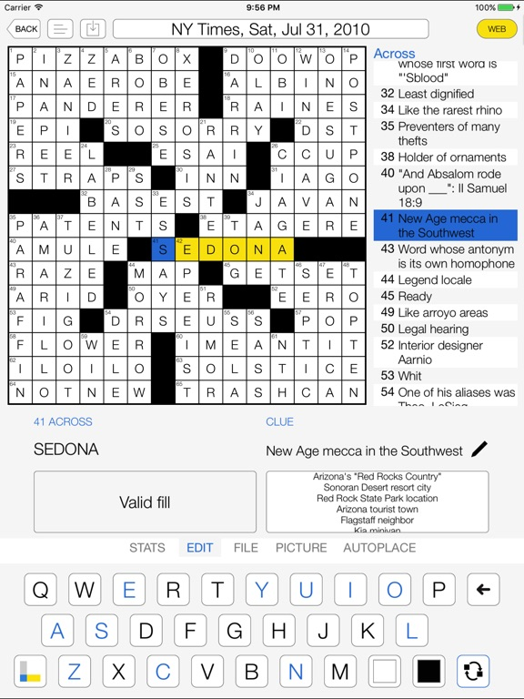 Crossword Maker for Cruciverbalists Screenshots
