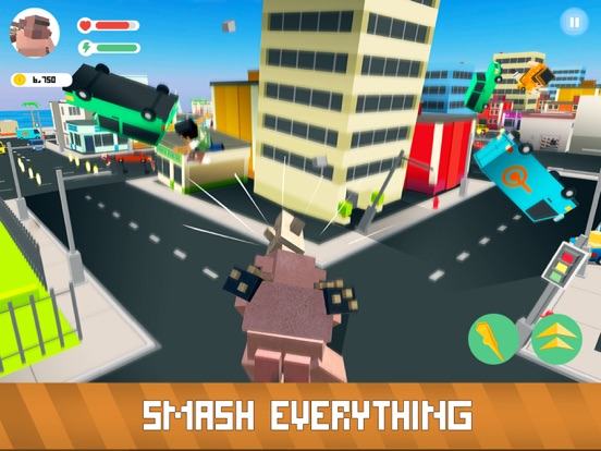 Blocky Monsters Smash screenshot 6