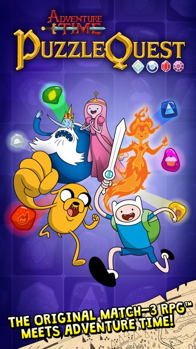 Adventure Time Puzzle Quest - Match 3 RPG Game screenshot one