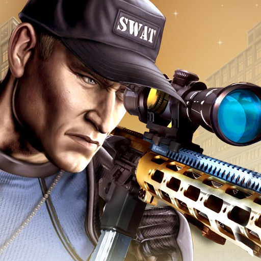 urban sniper shooting war iOS App