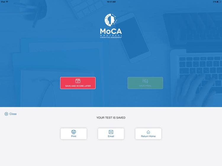 MoCA App screenshot-3
