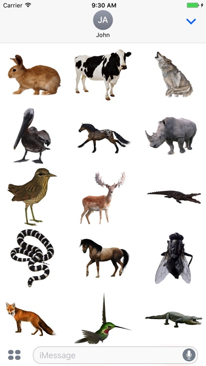 Animals Stickers for iMessage!
