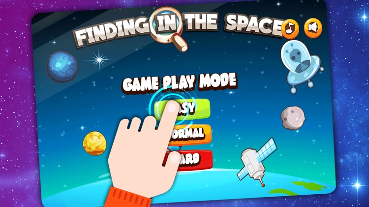 Find the Hidden Space Games For kids