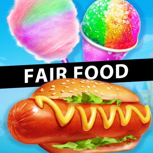 Carnival Fair Food Maker - Kids Food Cooking Games