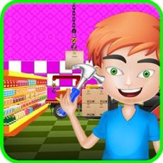Activities of My Town Supermarket Decorate & Repair Game