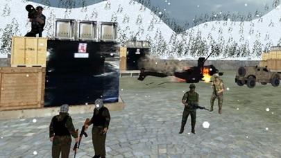 Gunship Sniper Shooter: Helicopter Air Battle screenshot two