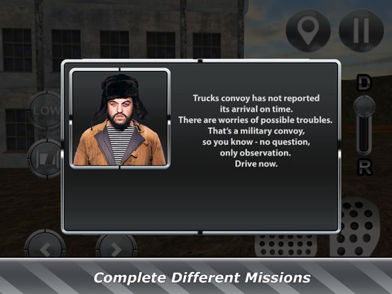 Russian Truck Drive Simulator screenshot 10