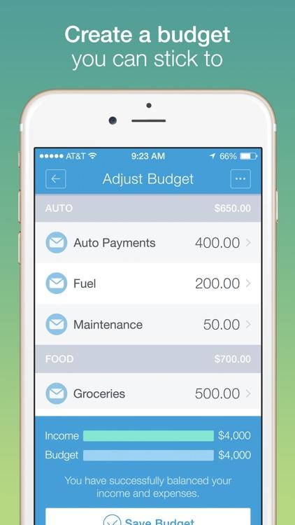 Mvelopes - Budgeting App screenshot-3