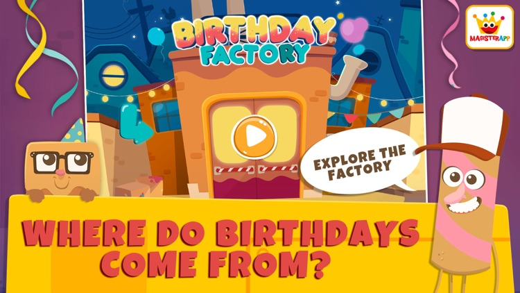 Birthday Factory: Kids games screenshot-0