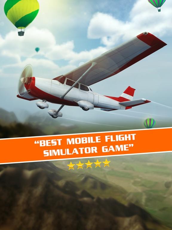 Полет Пилот 3D для iPad
