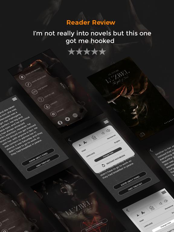 Luzbel - Interactive Book app scary horror story screenshot 7
