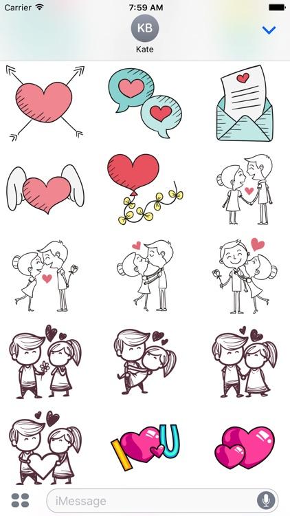 Valentine's Day & Love Stickers