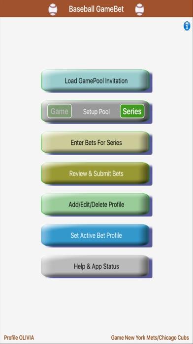 GameBet for Baseball GamePool