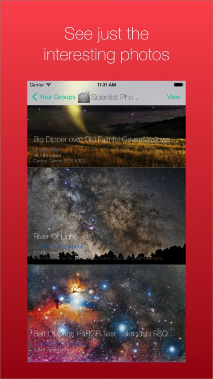 Photosophia for Flickr Groups