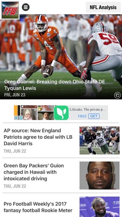 Pro Football Weekly screenshot-3