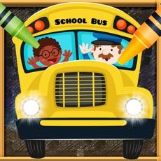 Activities of Car Vocab & Paint Game - The artstudio for kids