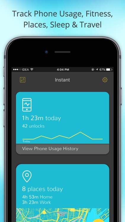 Instant - Lifelog | Place & Screen Time Tracker