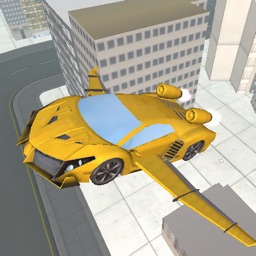 Racing Sports Flying Car Stunt Game