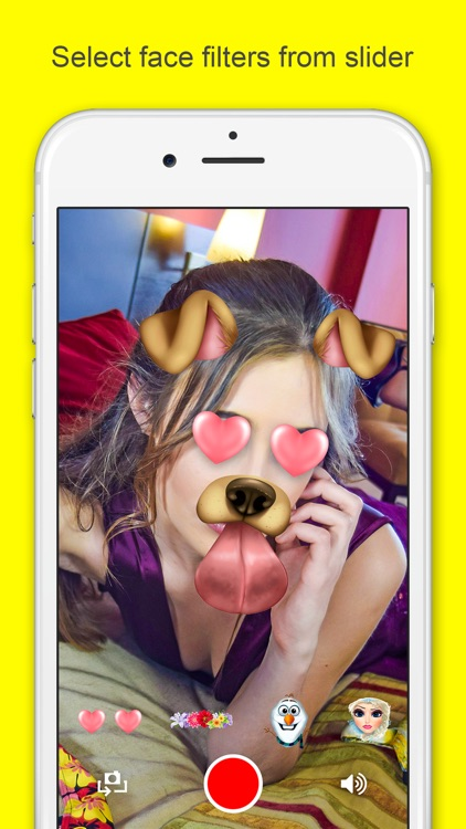 Face Filters For Snapchat & Funny Selfie Camera