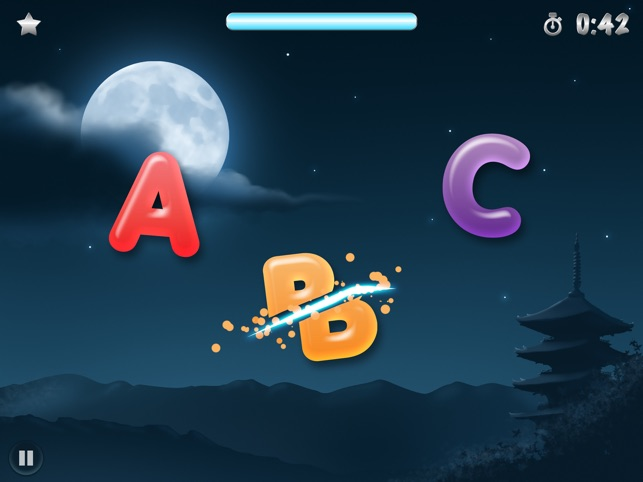 ABC Ninja - The Alphabet Slicing Game for Kids